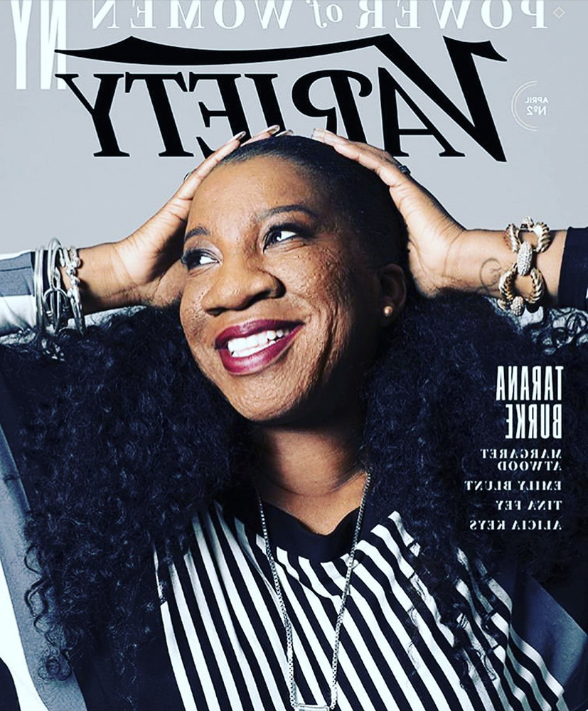 Variety Magazine cover of Tarana Burke